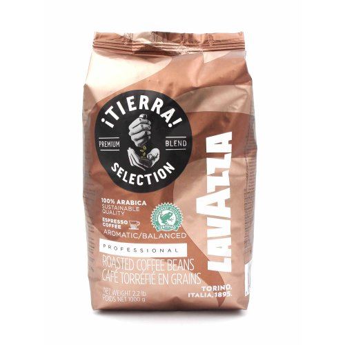 Lavazza - TIERRA SELECTION - 1000g Bohnen
