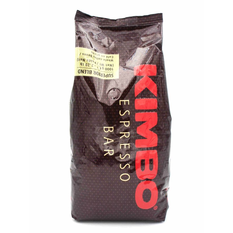 kimbo kaffee espresso superior blend 1000g bohnen 16 90. Black Bedroom Furniture Sets. Home Design Ideas
