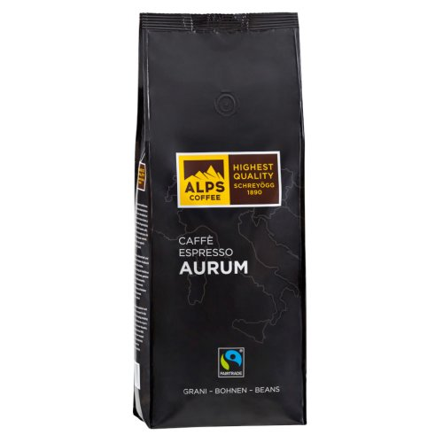 Alps Coffee Schreyögg - AURUM - Fairtrade Kaffee 1000g Bohnen