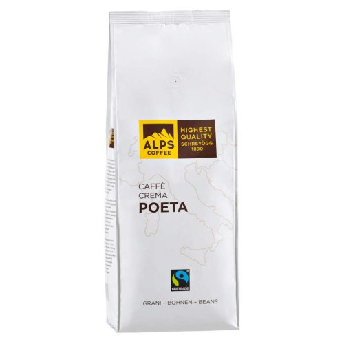 Alps Coffee Schreyögg - POETA - Fairtrade 1000g Bohnen